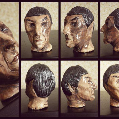 Star Trek's Mr. Spock (Clay)