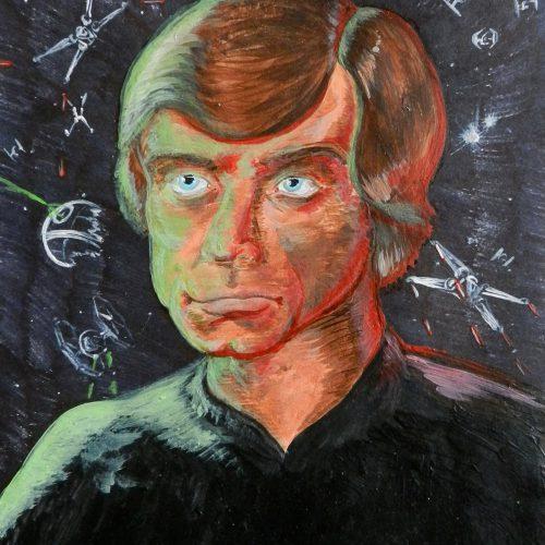 Luke Skywalker Portrait (Star Wars)