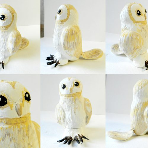 Barn Owl (Clay)