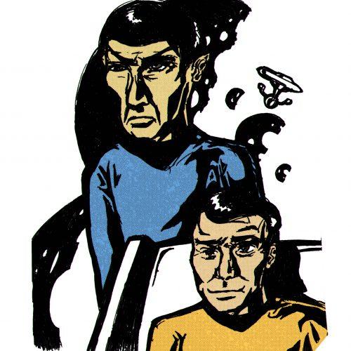 Captain Kirk And Mr. Spock (Star Trek)