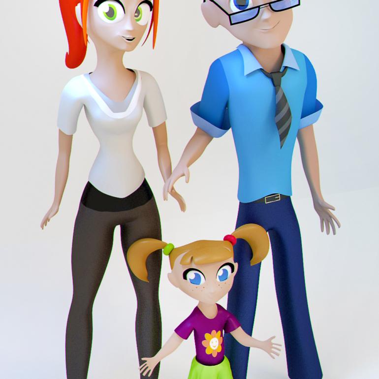 Семья (Часть нереализованного проекта).