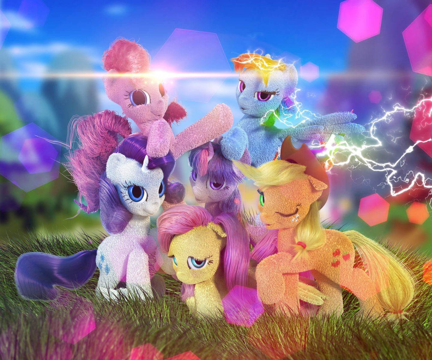 """""""Мой Маленький Пони"""" (главные герои сериала). 3ds Max + Vray + Photoshop."""