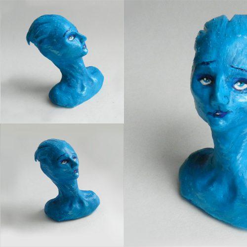 "Liara T'Soni Clay Bust (""Mass Effect"")"
