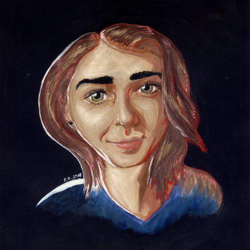 Portrait Of Maisie Williams (Game of Thrones)
