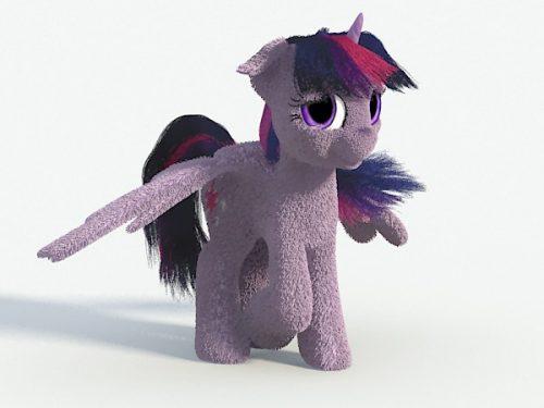 MLP: FiM - Twilight Sparkle (Single Render)