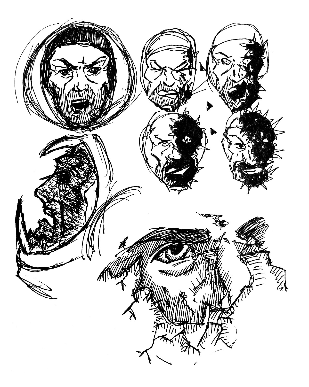 Moon Dust - Sketches (Old)