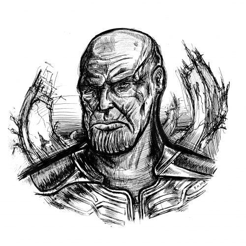 "Thanos (""Avengers: Infinity War"")"