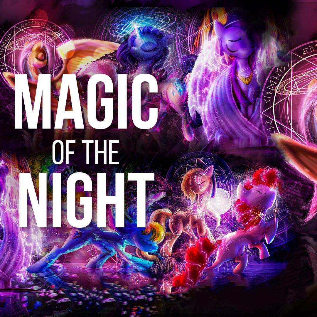 Магия Ночи (Фанарт MLP:FiM)