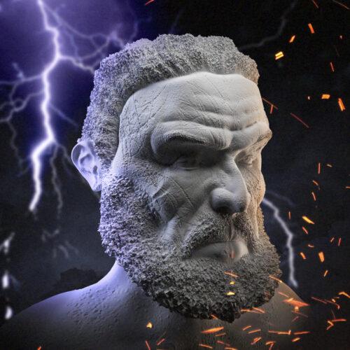 Zeus (3D sculpt)
