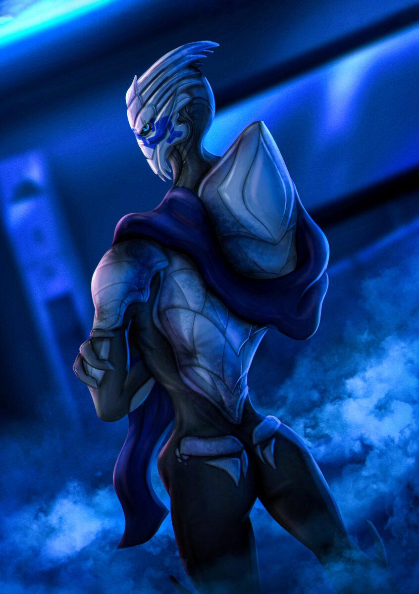 Garrus Vakarian from Mass Effect (Art)