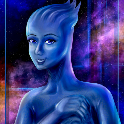Liara T'Soni from Mass Effect (Art)