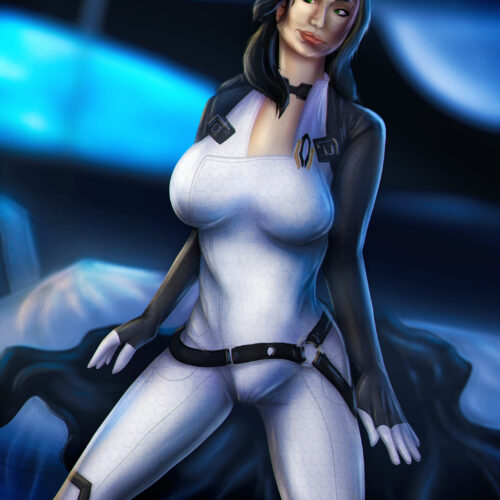 Miranda Lawson from Mass Effect (Art)