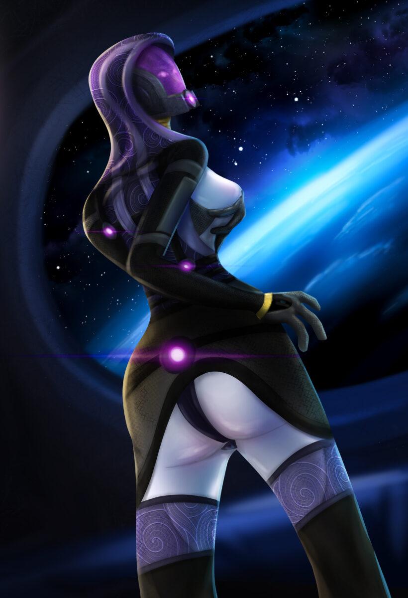 Tali'Zorah from Mass Effect (Art)