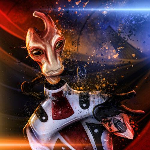 Mordin Solus from Mass Effect (Art)